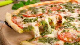 Recette de pizza Génoise au Pesto