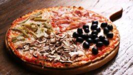 Recette de pizza Quatre Saisons
