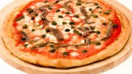 Recette de pizza Romaine