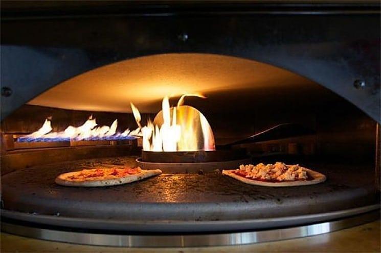 Four à pizza gaz professionnel