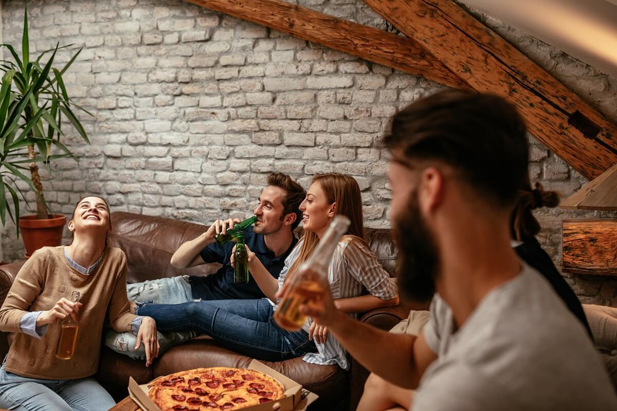 four a pizza interieur